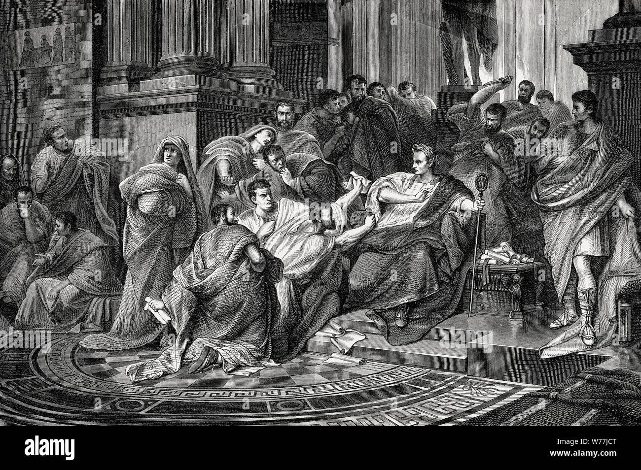 La Mort De Caius Julius Caesar 100