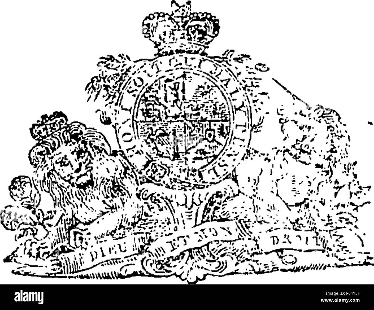 Inglese Fleuron Dal Libro Una Copia Della Carta Della