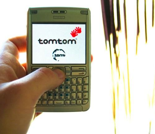 TomTom 6 on my Nokia E61