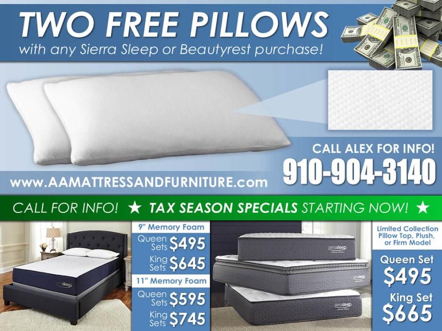 Free Pillows Tax Season Special4