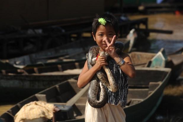 El lago Tonle Sap