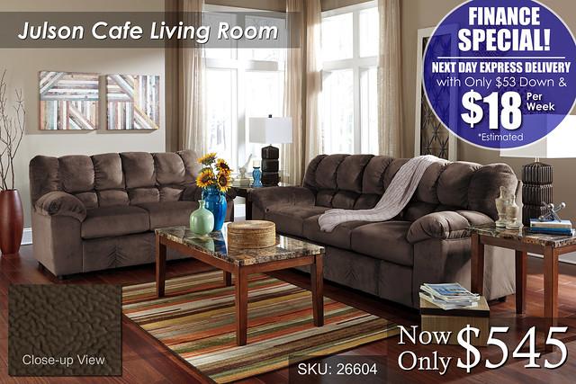 Julson Cafe Priced_FINANCE