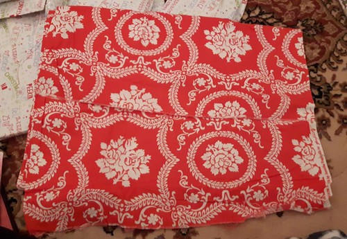 red print fabric