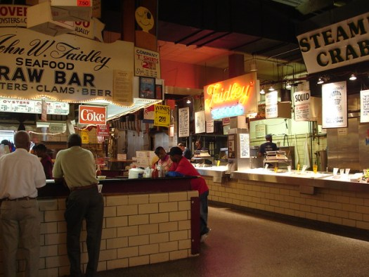 Faidley's, Lexington Market, Baltimore MD