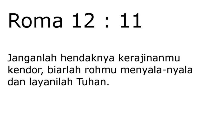 roma 12 11