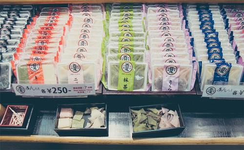 Japanese snacks