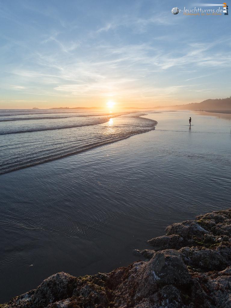 Sunset on Long Beach