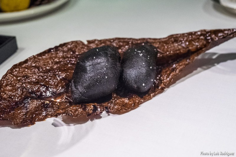 Ostra frita al carbón - Les Creations de Narisawa