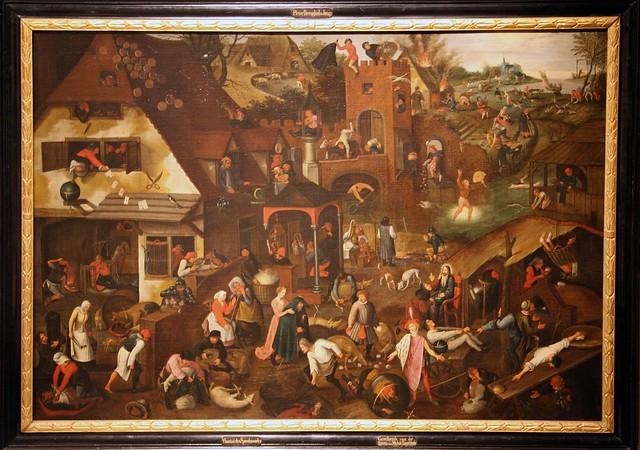 28019-Pieter Brueghel-Spreekwoorden