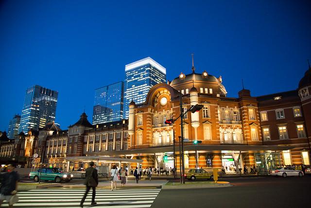 Tokyo Station Magichour