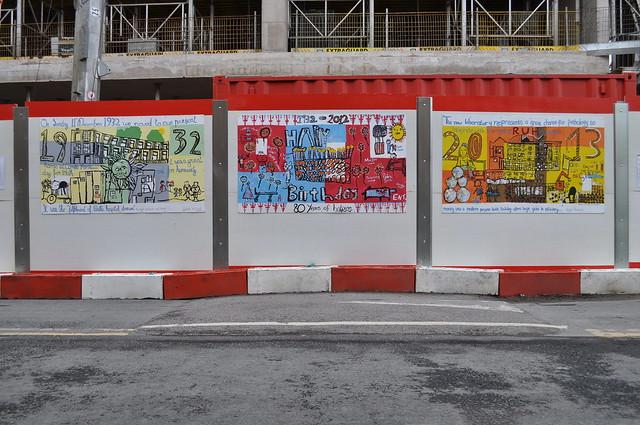 Kier Decorative Hoarding Panels