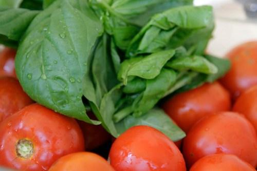 pomodori e basilico