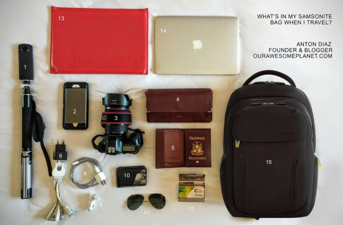 What's in My Samsonite Bag