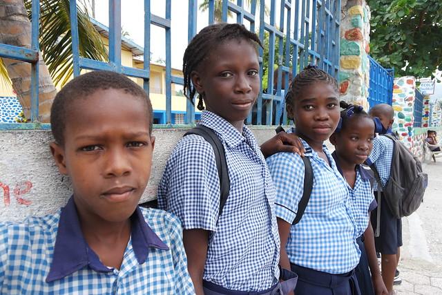 Jacmel Students