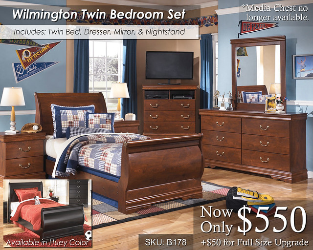 Wilmington Youth Bed Set NEW