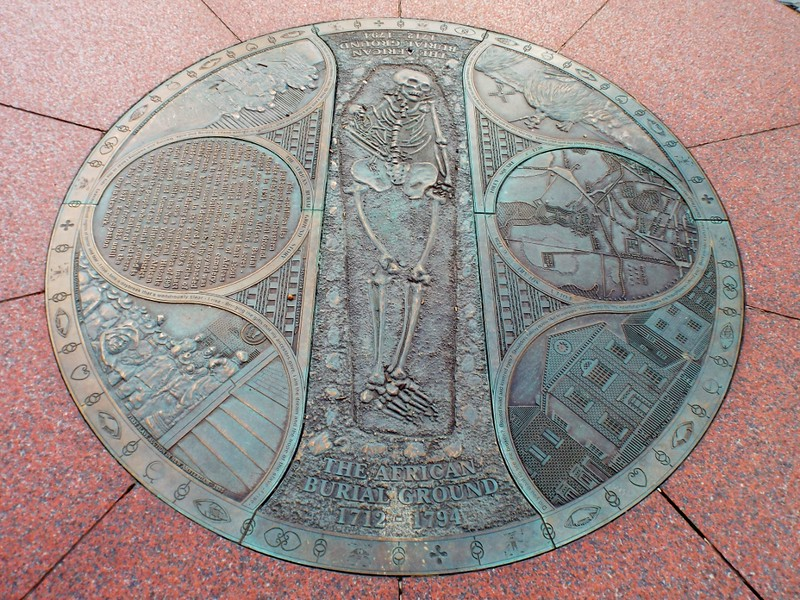 African Burial Ground, New York - the tea break project solo travel blog