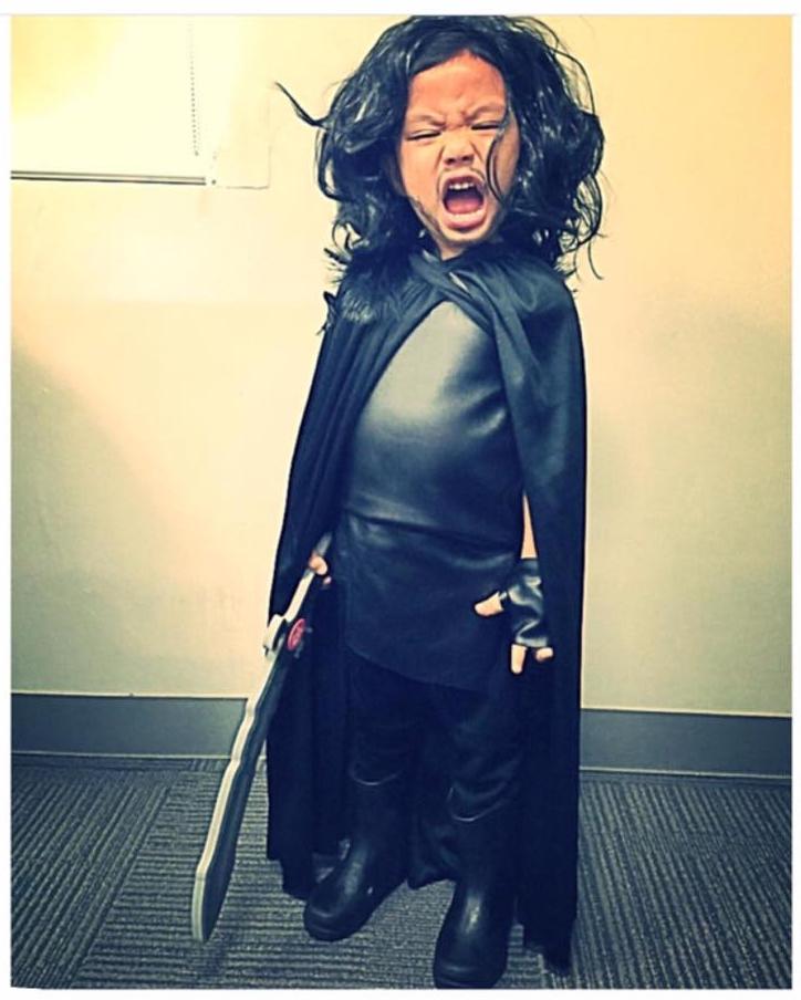 DIY Halloween Costume Jon Snow