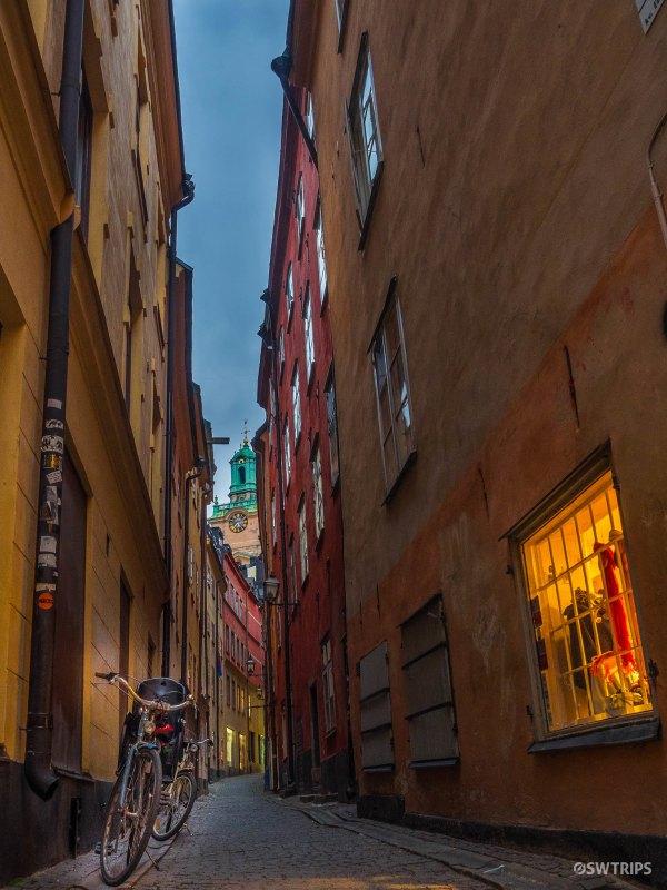 Narrow Alley at Gamla Stan - Stockholm, Sweden.jpg