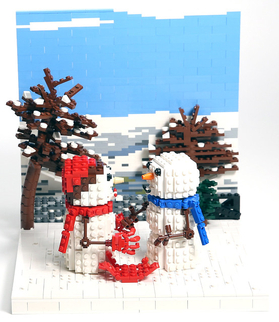 john lewis christmas adverts recreated in lego news. Black Bedroom Furniture Sets. Home Design Ideas