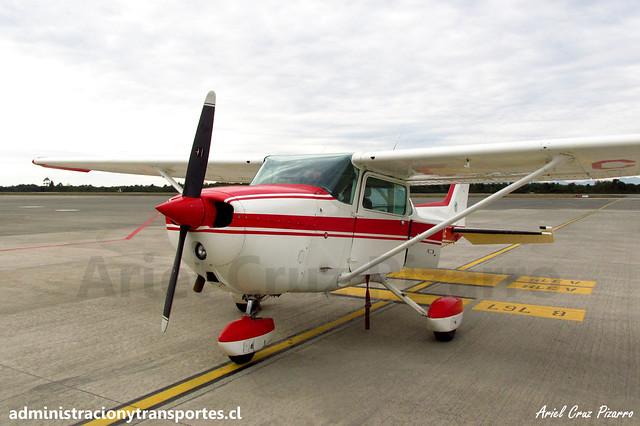 Cessna Skyhawk 172N CC-SKE (Club Aéreo de Castro)