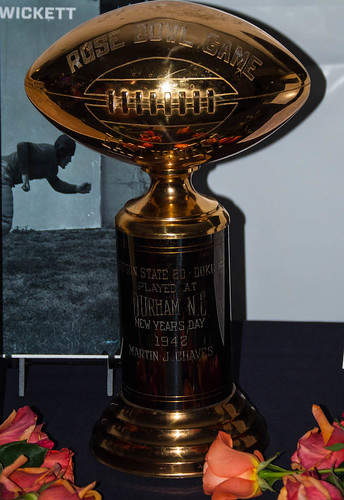 1942 Rose Bowl Trophy