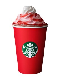Santa Hat Dark Mocha (Hot)