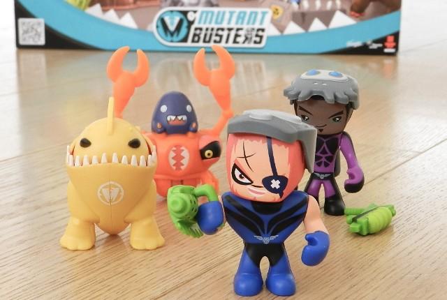 mutant busters personaggi