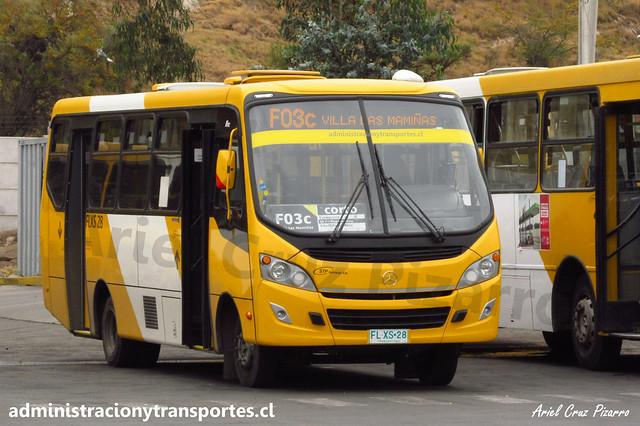 Transantiago F03c | STP Santiago | Caio Foz - Mercedes Benz / FLXS28