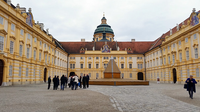 Melk Abbey - Inner Courtyard