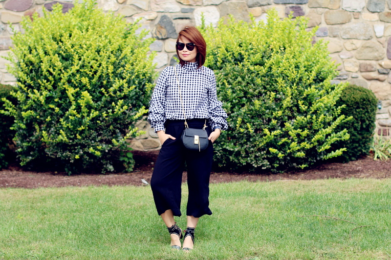 black-buffalo-check-shirt-culottes-chloe-drew-bag-7