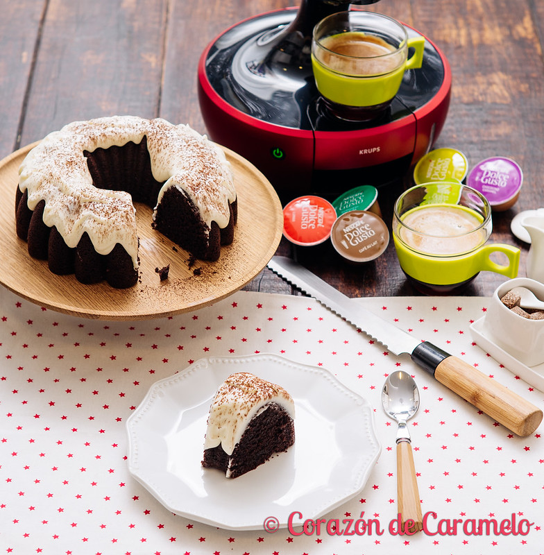 Bundt Cake de Café y Chocolate