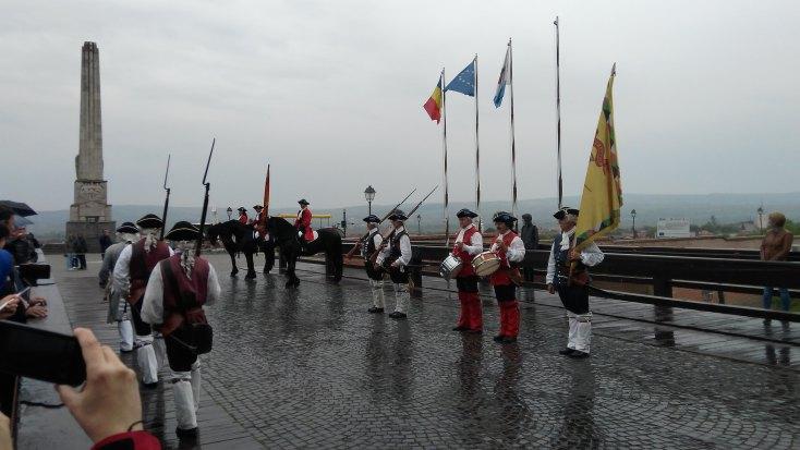 The change of guards, Alba-Iulia