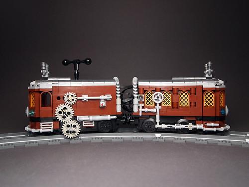 Steampunk Tram