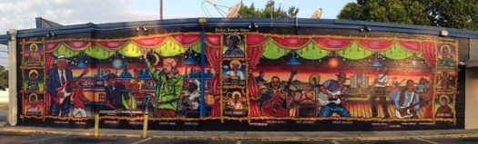 Baton Rouge Blues Mural
