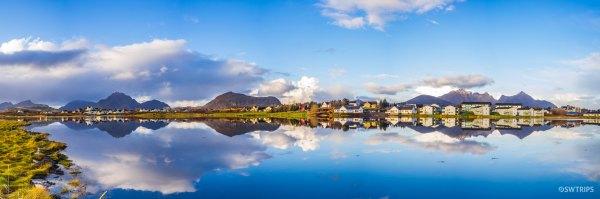 Lake Haldsvagen Panorama - Lofoten, Norway.jpg