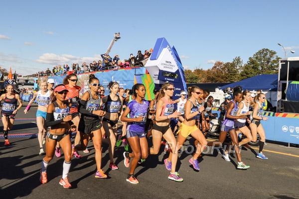 Ruta altimetria del Maraton de Nueva York