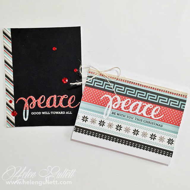 Die Cutting 2 Way: Peace