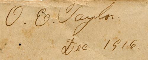 OET Signature