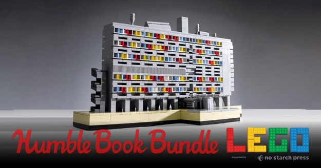 Pay-what-you-want Humble Book Bundle features great LEGO books