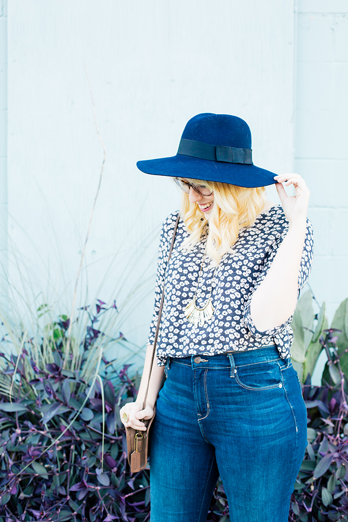 writes like a girl old navy bell bottoms navy brixton hat9