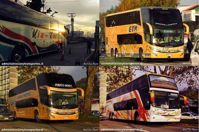 Via Tur / ETM / Buses Fierro / Cidher