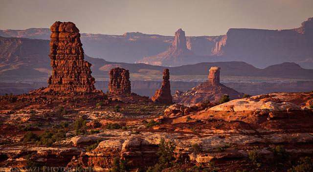 Land of Standing Rocks