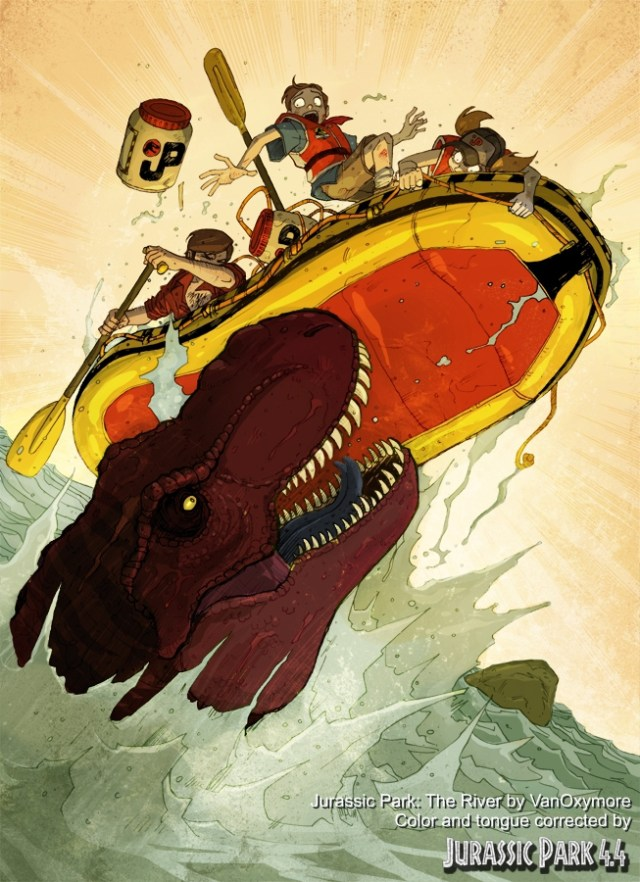 17 Jurassic Park The River por VanOxymore cor e libgua alterada po HZTomassi 2016-03 com legenda