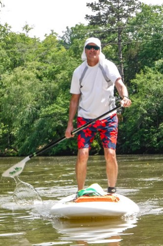 Kayaking and SUP on Saluda Lake-24