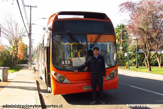 Rodrigo Castillo - Conductor Transantiago