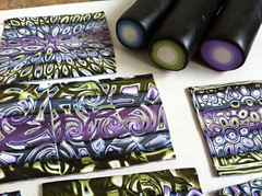 Jelly-roll mokume gane