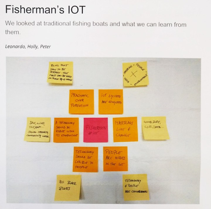 OpenIoT Desing Sprint Anstruther: Prototypes