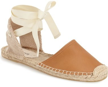 Soludos leather espadrille sandal