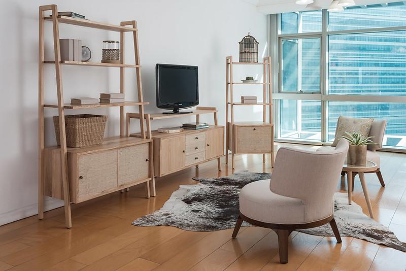 Copen Media Storage _ Shelves- Lifestyle Shot