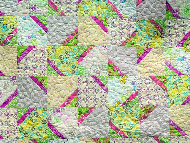 Summer Soft Quilt (British Patchwork & Quilting July16)